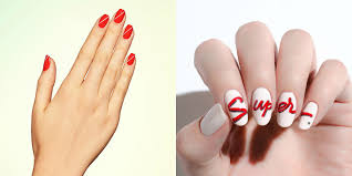 14 easy red nail designs cute nail art ideas for a red manicure