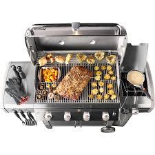 backyard grill 4 burner genesis ii lx s 440 gas grill
