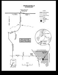 Blm Maps Quartz Peak Trail Sierra Estrella U2022 Hiking U2022 Arizona
