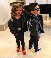 Sandy Grease Halloween Costume Kim Zolciak Dresses Twins Grease Characters