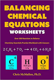 amazon com balancing chemical equations worksheets over 200