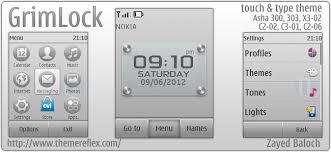 themes nokia asha 202 mobile9 grimlock theme for nokia asha 303 x3 02 c2 02 c2 06 touch type