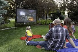 electrical upgrades for an enhanced backyard movie night