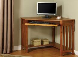 Computer Table Designs For Home In Corner Nice Small Oak Computer Desks For Home Dream Houses