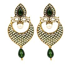 earrings online india stylish and fashion green earrings online india