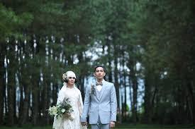 Wedding Dress Bandung Andien Ippe Exchanging Wedding Vow The Bride Dept Wedding