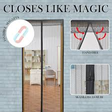 Magnetic Fly Screen For French Doors by Surpass 72