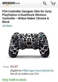 amazon ps4 controller black friday white u0026 gold dualshock 4 controller for the ps4 or is it blue and