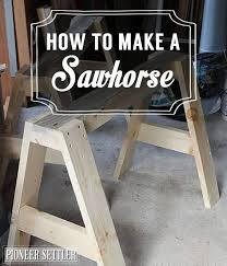 How To Make A Fold Down Workbench How Tos Diy by 25 Unique Saw Horses Ideas On Pinterest Saw Horse Diy