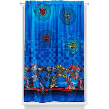 Hasbro Transformers  Battle Force Room Darkening Boys Bedroom - Room darkening curtains for kids