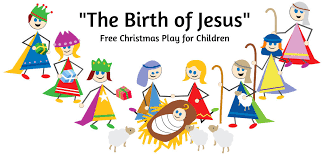 the birth of jesus script for children s script