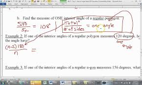 Interior Angles Calculator How To Find The Number Of Sides Of A Regular Polygon Given One