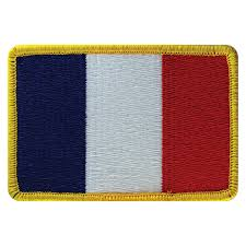 Frwnch Flag French Flag Patch U2013 Space Patches