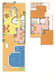 floor plans of hillside and cluster villas four seasons fairways