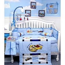 Nursery In A Bag Crib Bedding Set New Zoom Zoom Race Car Baby Crib Nursery Bedding Set