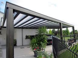 coperture tettoie in pvc coperture per pergole in legno giardino tettoie per giardino