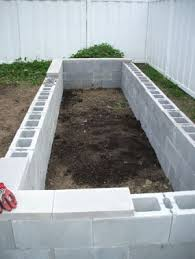 Build A Platform Bed With Cinder Blocks by Frugal Gardening Four Inexpensive Raised Bed Ideas Concrete