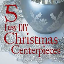 Christmas Table Decorations Blue And Silver by 5 Easy Diy Christmas Table Decor Centerpiece Ideas