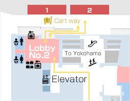 lobby no 2 floor map business information ycat yokohama