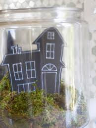 black trees for halloween how to make a haunted terrarium for halloween hgtv