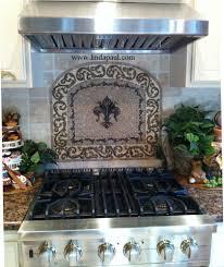 kitchen backsplash medallions mosaic tile metal backsplashes in