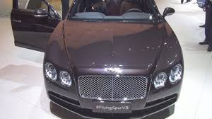 bentley sedan interior bentley new flying spur v8 exterior and interior youtube