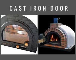 Chiminea With Pizza Oven Wood Fired Pizza Oven Ebay