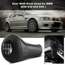 bmw e30 gear knob for bmw e28 e30 e34 e36 gear shift knob boot 5 speed car gear