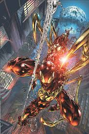 spider man iron spider armor superior octopus battles
