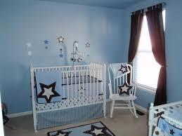 boys light blue tie minimalist light blue baby boy bedroom theme ideas with cute stars decor