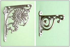 Decorative Shelves For Walls How To Make Hidden Decorative Shelf Brackets U2014 Interior