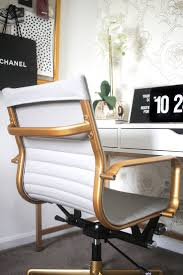 Black White And Gold Home Decor by Best White And Gold Office Chair About Remodel Quality Furniture