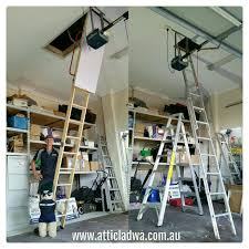 35 best attic ladders perth images on pinterest perth ladders