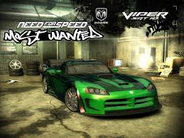 need for speed most wanted 2005 dodge viper srt 10 challenging