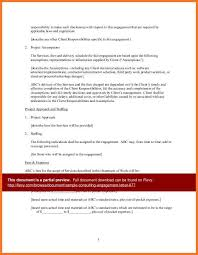 example of engagement letter sample sow template