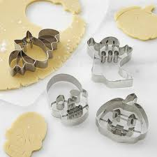 halloween impression cookie cutters set of 4 williams sonoma