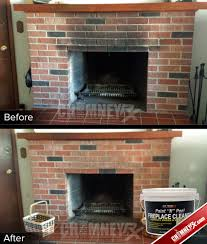 cleaning a stone fireplace clean fireplace brick fireplace ideas