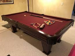 imperial sharpshooter pool table brunswick billiards ventura pool table sold used pool tables