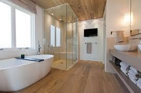 bathroom amazing large design ideas elegant for full size bathroom large design with oversize bathrub and long cabinet also wood floor ceiling