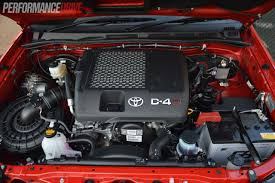 Does Toyota Make Diesel Engines 2013 Toyota Hilux Sr5 Review Performancedrive