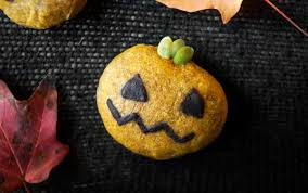 halloween pumpkin cookies vegan one green planet