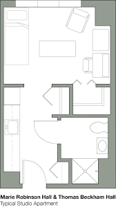 Studio Loft Apartment Floor Plans by Efficiency Apartment Floor Plans Studio Loft Apartments