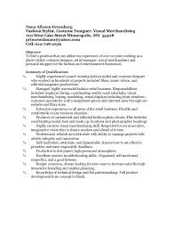 Personal Shopper Resume Sample by Dag Final Resume 71608