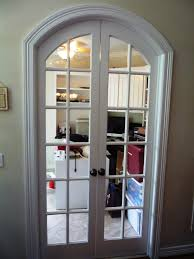 Narrow Doors Interior by Custom Arched French Doors That We Built To Close Off Any Office