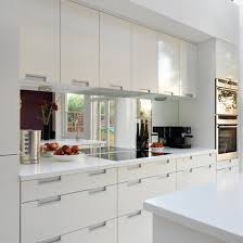 splashback ideas white kitchen homes modern white kitchen mirror splashback kitchens