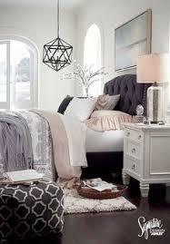 Bedroom Home Decor Beautiful Bedroom Decor Tufted Grey Headboard Mirrored