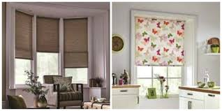 decorative shades for windows patterned roman blinds ready made