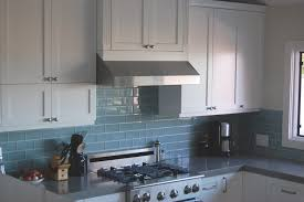 Kitchen Design Backsplash by Blue Glass Tile Kitchen Backsplash Ideasidea