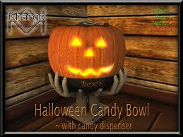 second life marketplace halloween candy bowl