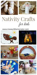 nativity christmas crafts for kids messy little monster
